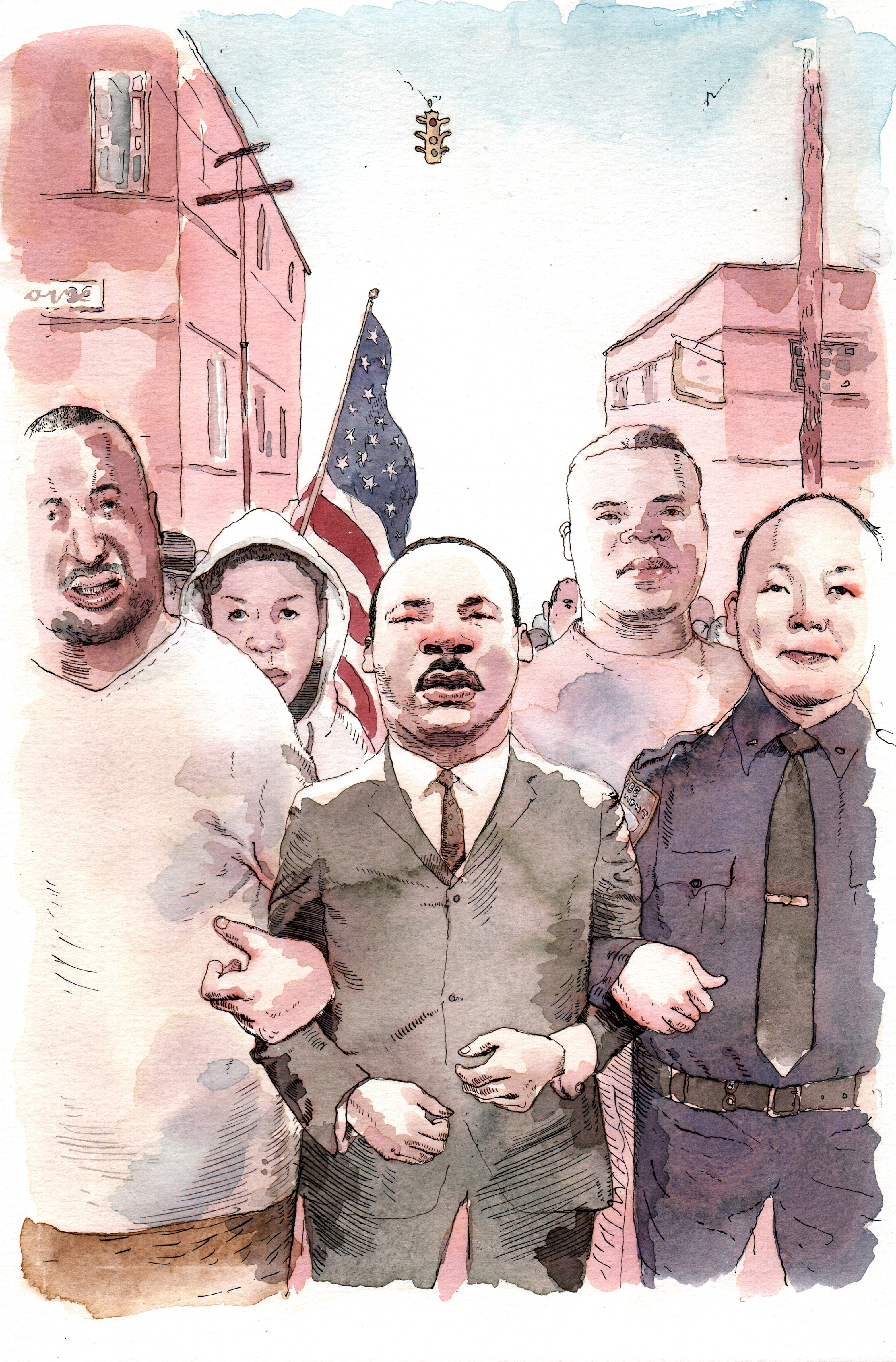 MLK by Barry Blitt